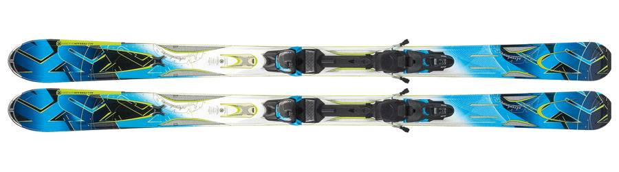 K2 A.M.P. AFTERSHOCK + Marker MX 14.0 D - lyže - lyžařský set