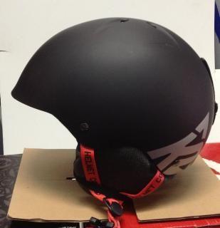 Lyžařská helma K2 CLUTCH 11/12 černá L-XL (59-61cm)