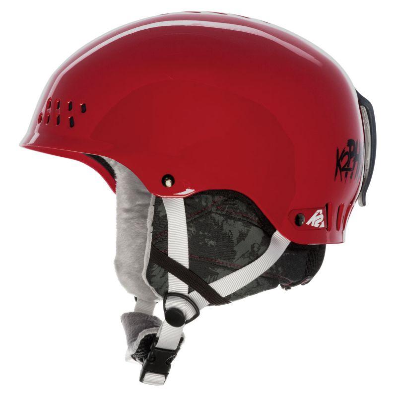 Lyžařská helma K2 PHASE PRO red S 2013/14