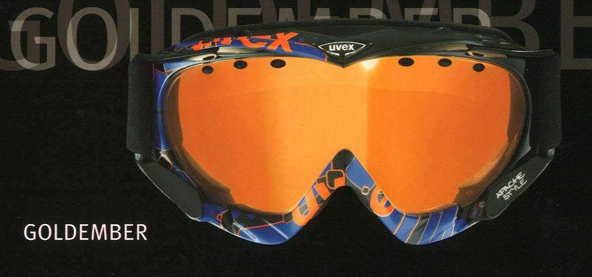 Uvex APACHE COLORFUSION lyžařské brýle, na lyže, snb