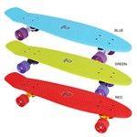 BUFFY 28'' skateboard red