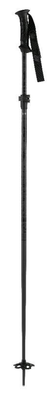 Lyžařské hole K2 FLIPJAW COMP ADJ 135 black nastavitelné