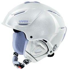 Lyžařská helma Uvex P1US PRO WL, white skyfall 1 PLUS