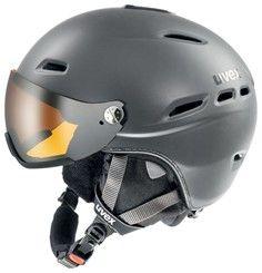 Lyžařská helma Uvex HLMT 200 VISOR doprava 0,-