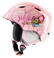Dětská lyžařská helma AIRWING 2 růžová pink fairy