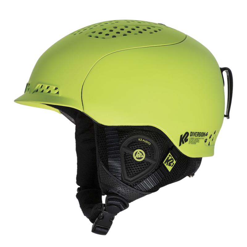 Lyžařská helma K2 DIVERSION green 2015/16 - přilba na lyže, snb