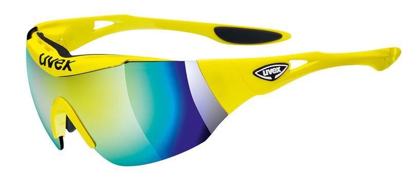Sportovní brýle Uvex TRACK 2 CC yellow s dvěma výměnnými skly