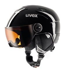Uvex JUNIOR VISOR - dětská / juniorská lyžařská helma se štítem