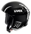 Závodní lyžařská helma Uvex RACE + all black doprava 0,-