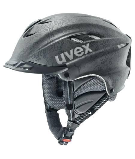 Uvex X-Ride Motion Style černá matná paisley vel.L