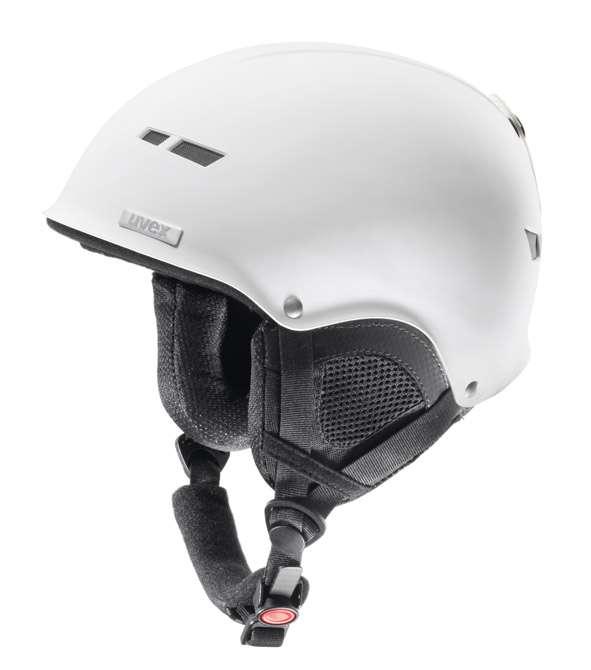 Lyžařská helma Uvex X8 bílá mat dárek zdarma kukla Uvex