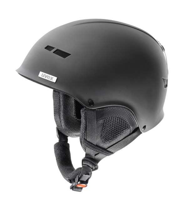 Lyžařská helma Uvex X8 černá mat dárek zdarma kukla Uvex