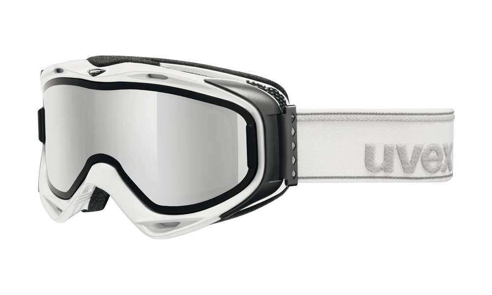 Uvex G.GL 300 TAKE OFF white - lyžařské brýle s odnímatelným zorníkem