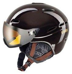 helma UVEX HLMT 200 WL, chocolate (S566183800*) | 55-58 UVEX ZIMNÍ