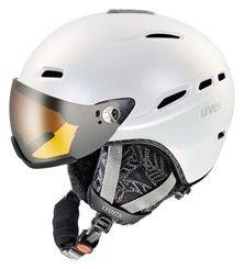 helma UVEX HLMT 200 WL, white pearlescent (S566183100*) | 53-55cm UVEX ZIMNÍ