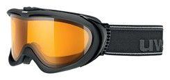 lyžařské brýle UVEX COMANCHE OPTIC, black mat/lasergold lite (2229) | Uni | Množ. UVEX ZIMNÍ