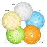 TRIX florbalový míček yellow
