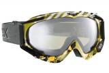 Lyžařské brýle Uvex APACHE STYLE COLORFUSION brýle na lyže, snowboard - Bílo-modro-oranž (icegold) zorník oranž zrcadlocvý...