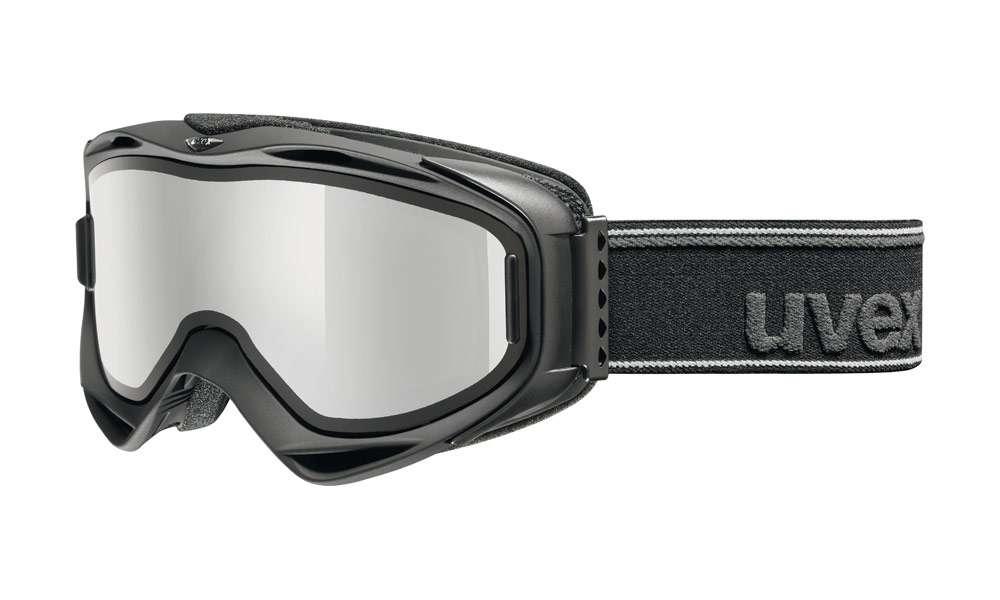 Uvex G.GL 300 TAKE OFF black - lyžařské brýle s odnímatelným zorníkem