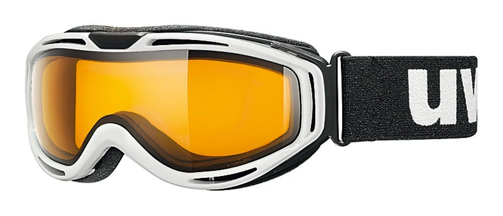 Uvex HYPERSONIC PURE bílé - white lyžařské brýle