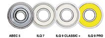 Ložiska K2 ILQ-9 Classic Plus Twincam (16ks) na inline kolečkové brusle K2 Corporation