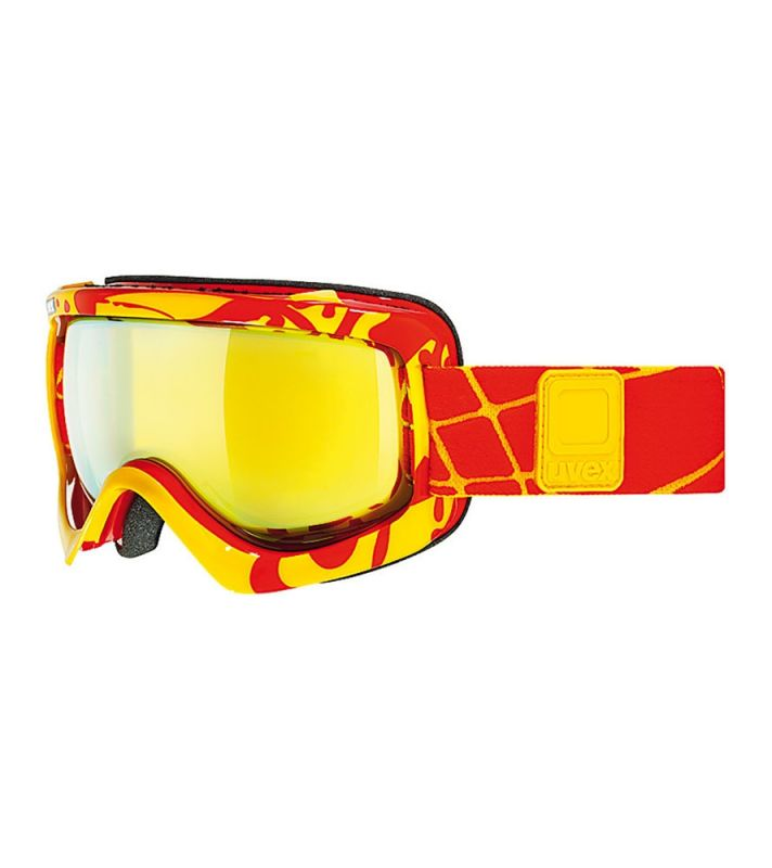 Uvex G.GL5 SIOUX CF yellow/red shiny lyžařské brýle