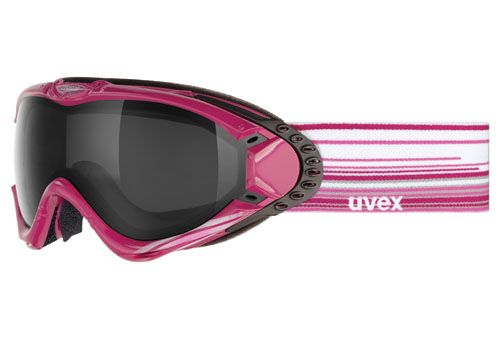Uvex ULTRA fialovo- bílé lyžařské brýle