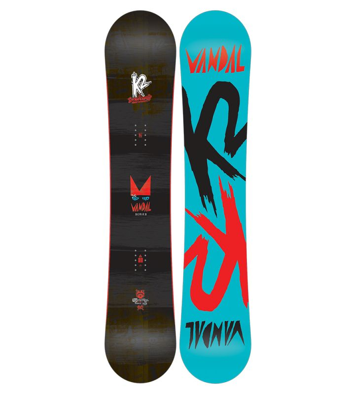 SNB K2 VANDAL 137 cm 17/18 juniorský snowboard doprava 0,- K2 Corporation