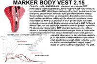 Chránič páteře Marker HYBRID MAP men doprava 0,- páteřák, vesta