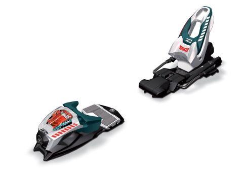 Marker Race 10.0 wh/blk/teal - lyžařské vázání