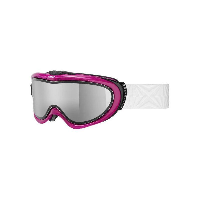 Uvex COMANCHE TAKE OFF POLA blackberry shiny- lyžařské brýle s odnímatelným zorníkem