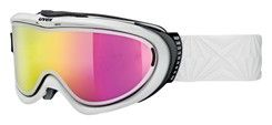 lyžařské brýle UVEX COMANCHE TAKE OFF POLA, white/litemirror pink (1026) UVEX ZIMNÍ