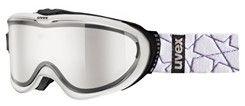Uvex COMANCHE TAKE OFF white- lyžařské brýle s odnímatelným zorníkem