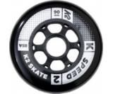 Kolečka na inline K2 90mm 85A - sada 4ks - 90 MM WHEEL 4-PACK
