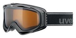 Uvex G.GL 300 POLA black / polavision - lyžařské brýle s polarizačním zorníkem