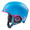 Lyžařská helma Uvex HLMT 5 PRO CORE modrá + dárek zdarma kukla Uvex