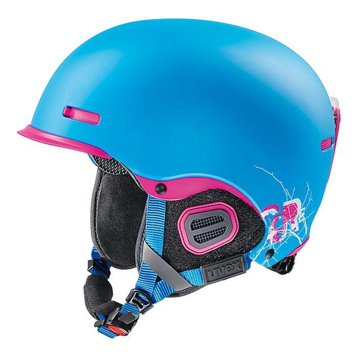 Uvex HLMT HLMT 5 PRO CORE modrá + zdarma kukla Uvex - lyžařská helma