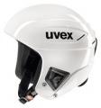 Závodní lyžařská helma Uvex RACE + all white doprava 0,-