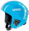 Závodní lyžařská helma Uvex RACE + cyan-pink doprava 0,-