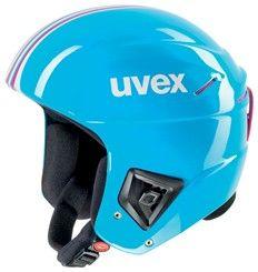 Závodní lyžařská helma Uvex RACE+ cyan-pink doprava 0,-