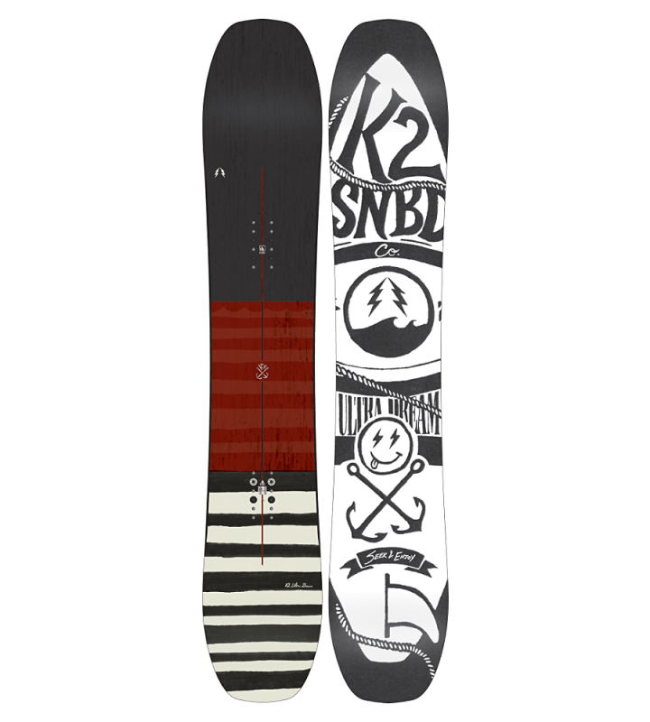 K2 ULTRA DREAM Wide 15/16 all-mountain snowboard doprava 0,- K2 Corporation