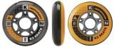 Sada kolečka K2 84mm + ILQ7 ložiska + vymezovač (8ks) 8 pack complete K2 Corporation