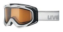 Uvex G.GL 300 POLA white / polavision - lyžařské brýle s polarizačním zorníkem
