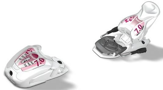 Marker M 7.0 EPS Attiva - juniorské / dětské lyžařské vázání do 75 kg