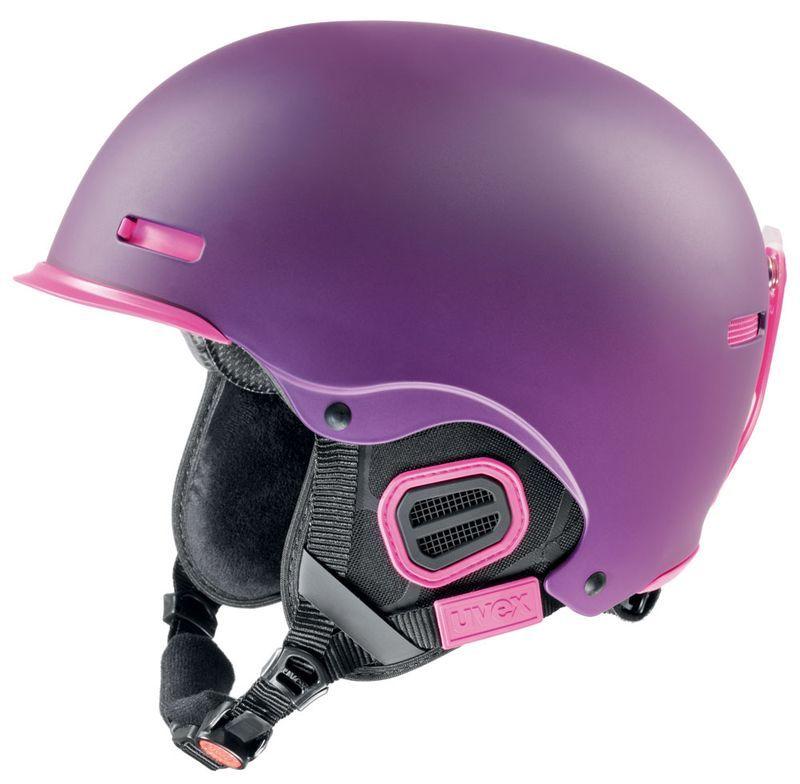 helma UVEX HLMT 5 PRO, purple-pink mat (S566146390*) UVEX ZIMNÍ