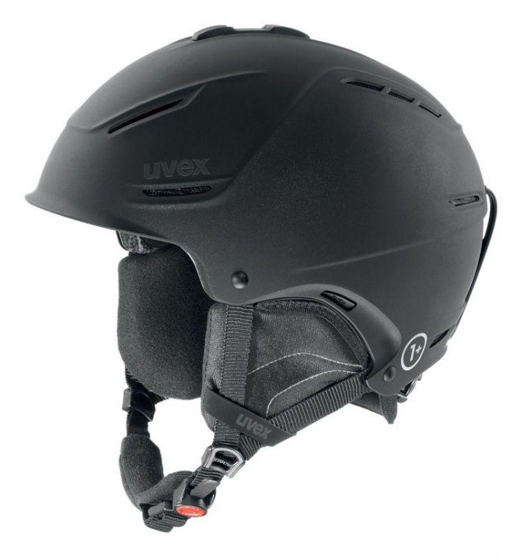 helma UVEX P1US, black met mat (S566153200*) UVEX ZIMNÍ