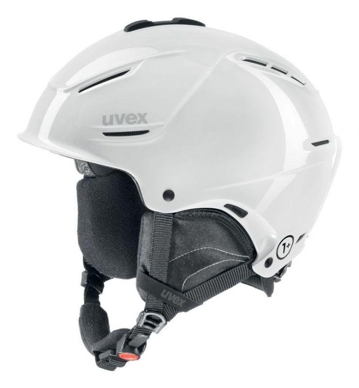 helma UVEX P1US, white (S566153100*) UVEX ZIMNÍ