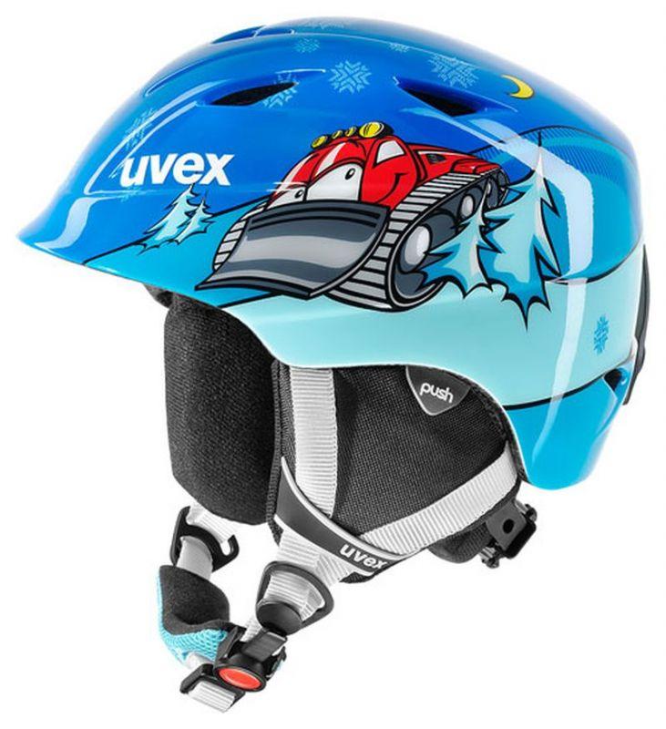 helma UVEX AIRWING 2, caterpillar blue (S566132420*) UVEX ZIMNÍ