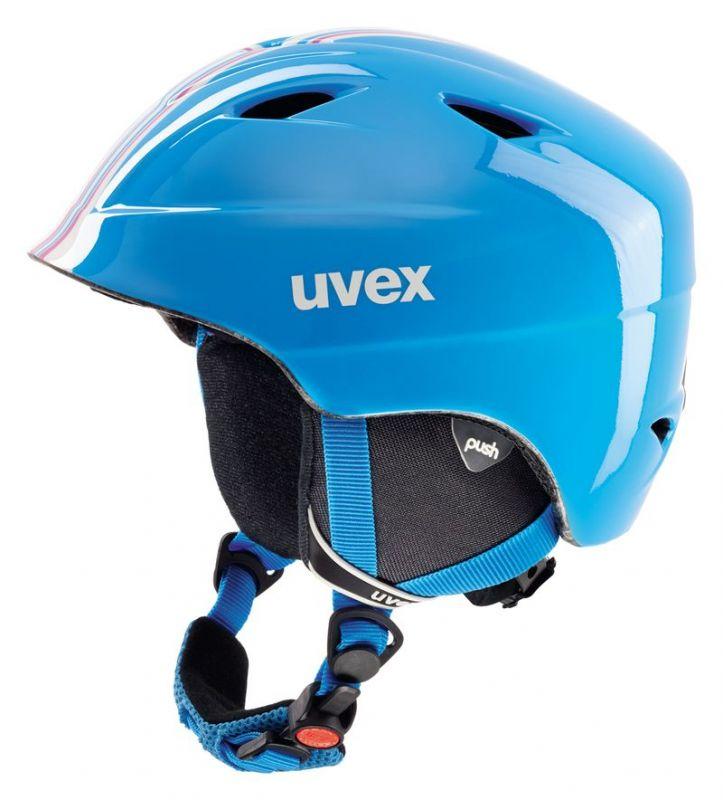 helma UVEX AIRWING 2 RACE, cyan-pink (S566192490*) - 52-54 UVEX ZIMNÍ