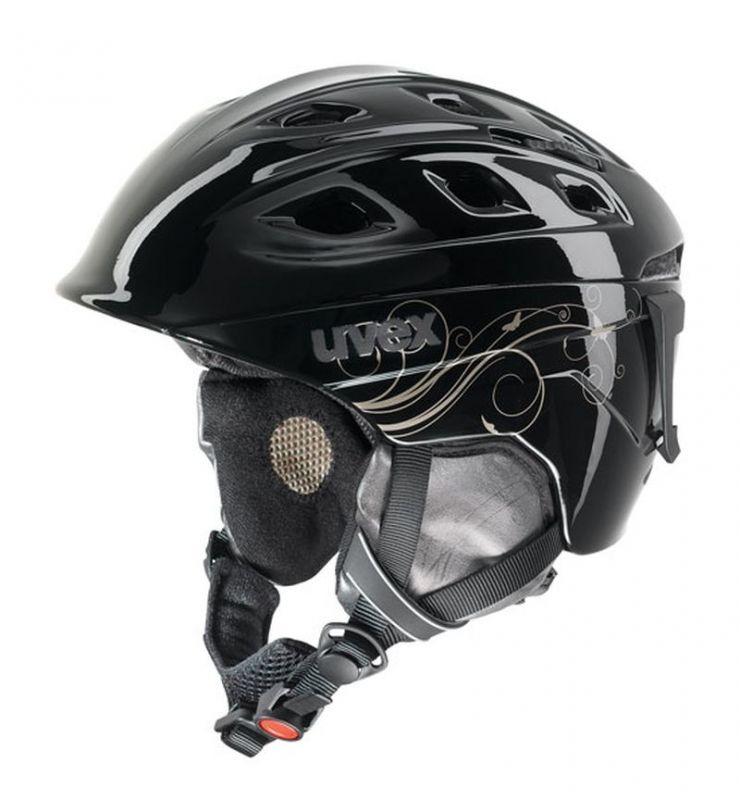 helma UVEX FUNRIDE 2 LADY, black/gold (S566150260*) UVEX ZIMNÍ